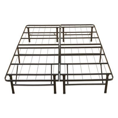 e rest full metal platform bed frame