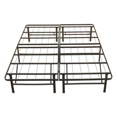 e rest queen metal platform bed frame