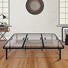 E Rest Lumbar Adjustable Wood Amp Metal Platform Bed Frame