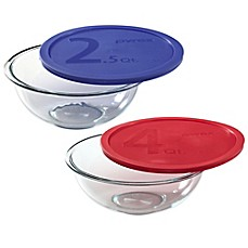 Pyrex® Glass Mixing Bowl with Plastic Lid
