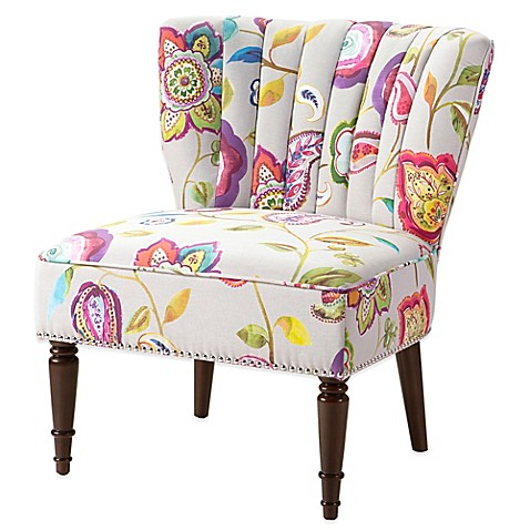 Madison Park Korey Chair In Amelie Multi Bed Bath Amp Beyond