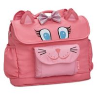 Bixbee Animal Pack Kitty Kids Backpack in Pink