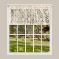 Today's Curtain Richmond Macram 14-Inch Window Valance in Ecru