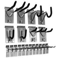Proslat 20-Piece Hook Kit in Silver