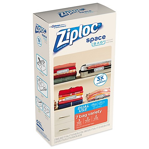 Ziploc Space Bags Bed Bath And Beyond