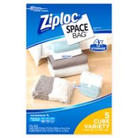Ziploc® Space Bag® 5-Piece Cube Combo Set