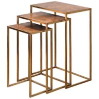 Uttermost Osmund Metal Nesting Accent Tables (Set of 3)