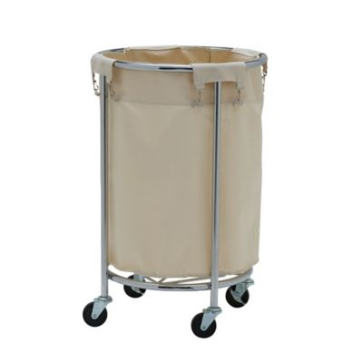 buy rolling hamper from bed bath  beyond, Home decor