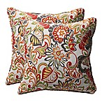 Zoe Square Throw Pillow (Set of 2)