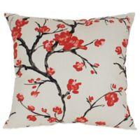 Flowering Branch Floor Pillow