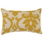 Azzure Oblong Throw Pillow in Gold