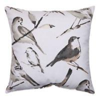 Bird Watcher Square Throw Pillow