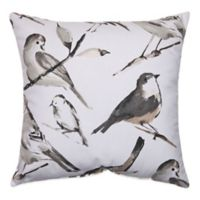 Bird Watcher Square Throw Pillow