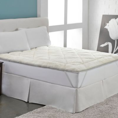 therapedic cool wool reversible full mattress topper