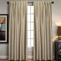 Sonoma Rod Pocket/Back Tab 63-Inch Window Curtain Panel in Cream