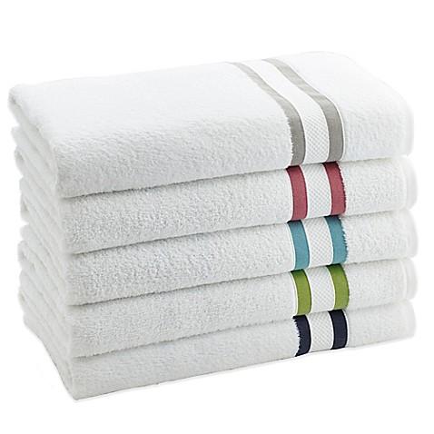 Kassatex Mayfair Stripe Bath Towel Collection - www ...