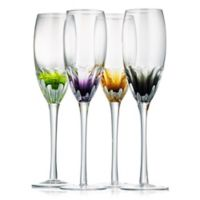 Artland® Solar Toasting Flutes in Assorted Colors(Set of 4)
