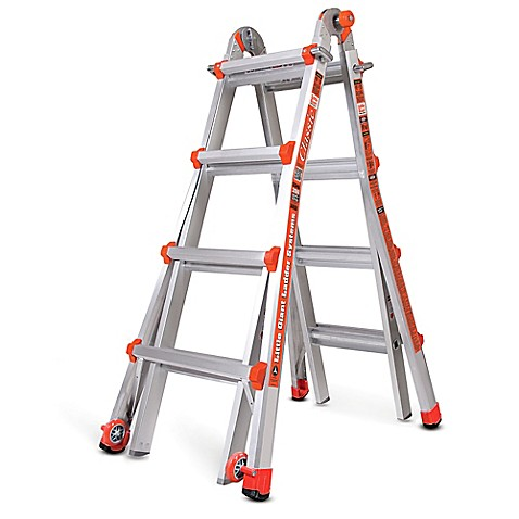 The Little Giant articulating ladder is constructed of a special alloy that makes it 20% lighter than any comparable industrial-rated ladder. The Little Giant also includes several innovative features such as the dual-pin hinge and the easy-to-use rock locks for quick weeny.tk: $