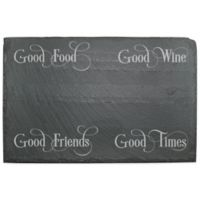 """Good Friends"" Slate Server"