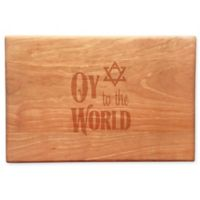 Oy to the World Wood Cheeseboard