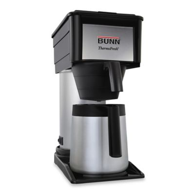 Grind And Brew Coffee Maker Bed Bath And Beyond : Bunn Velocity Brew BT 10-Cup Thermal Coffee Maker - Bed Bath & Beyond
