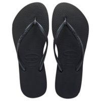 Havaianas® Size 6 Slim Women's Sandal in Black