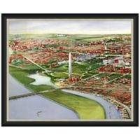 Framed Washington Monument View Wall Décor