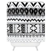 DENY Designs Kris Tate Wipil 3 Shower Curtain