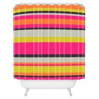 DENY Designs Caroline Okun Adrift Shower Curtain in Pink