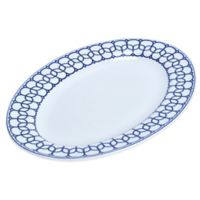 Mikasa® Lavina Oval Platter in White