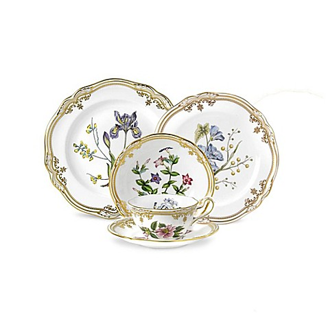 spode stafford flowers dinnerware collection