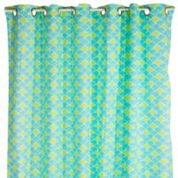 Pam Grace Creations Aqua Peacock Bath Rug