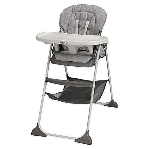 graco slim snacker high chair in whisk buybuy baby. Black Bedroom Furniture Sets. Home Design Ideas