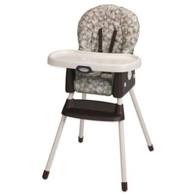 High Chairs U003e Graco® SimpleSwitch™ High Chair + Booster In Zuba™