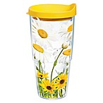 Tervis® White Daisies 24 oz. Wrap Tumbler with Lid