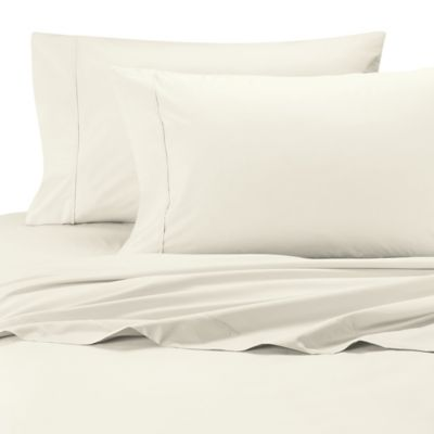 500 Thread Count Cotton Wrinkle Free Standard Pillowcases In Ivory (Set Of  2)