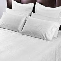 """Frette At Home """"Villa Borghese Collection"""" Queen Sheet Set in White"""