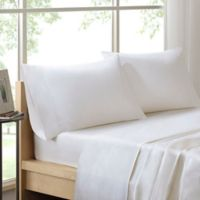 Sleep Philosophy Liquid Cotton Queen Sheet Set in White