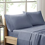 Sleep Philosophy Liquid Cotton King Sheet Set in Blue