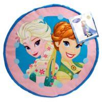 "Disney® ""Frozen"" Perfect Day Round Decorative Throw Pillow"
