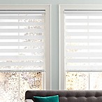 Real Simple® Sheer Layered 69-Inch x 72-Inch Shade in White