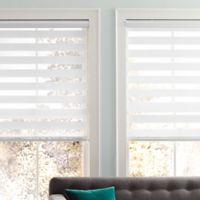 Real Simple® Sheer Layered 23-Inch x 72-Inch Shade in White