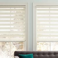 Real Simple® Sheer Layered 23-Inch x 72-Inch Shade in Natural
