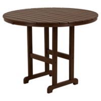 POLYWOOD® La Casa Counter Height Dining Table in Mahogany