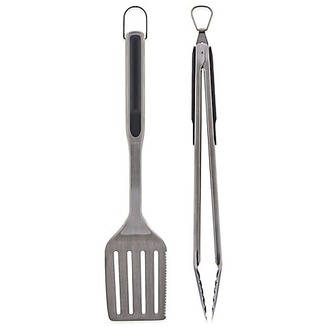 Oxo good grips 2 piece grilling utensil set bed bath - Grill utensil storage ideas ...