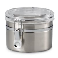 Oggi™ 26-Ounce Brushed Stainless Steel Canister