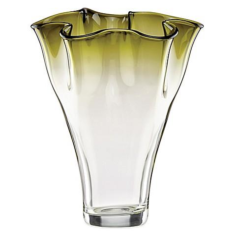Lenox 174 Organics 12 Inch Ruffle Ombre Centerpiece Crystal