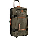 Timberland® Twin Mountain 30-Inch Wheeled Duffle in Burnt Olive/Burnt Orange