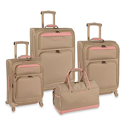 Tommy Bahama 174 Bahama Mama 4 Piece Luggage Set In Champagne