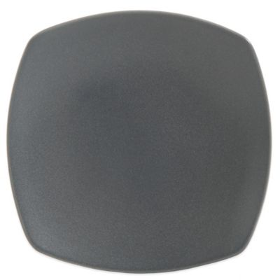 Gibson Paradiso Square Dessert Plate in Grey  sc 1 st  Bed Bath \u0026 Beyond & Buy Gray Square Dinner Plates from Bed Bath \u0026 Beyond